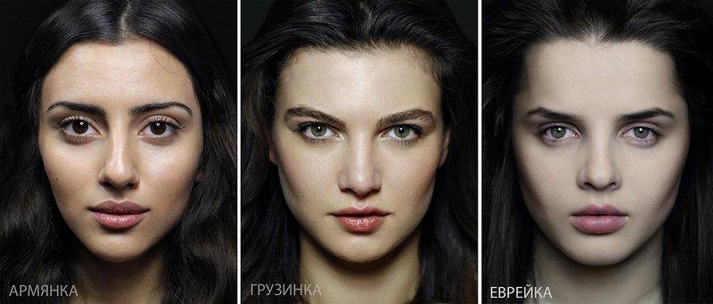 Типичная внешность женщин различных народов мира (5)