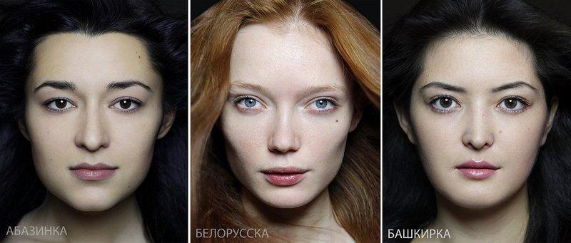 Типичная внешность женщин различных народов мира (6)