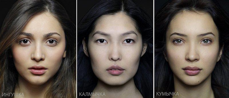 Типичная внешность женщин различных народов мира (7)