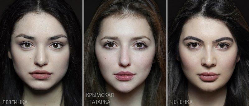 Типичная внешность женщин различных народов мира (8)