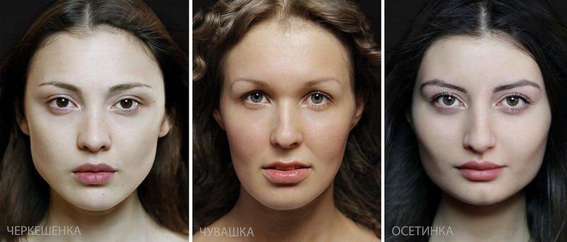 Типичная внешность женщин различных народов мира (9)