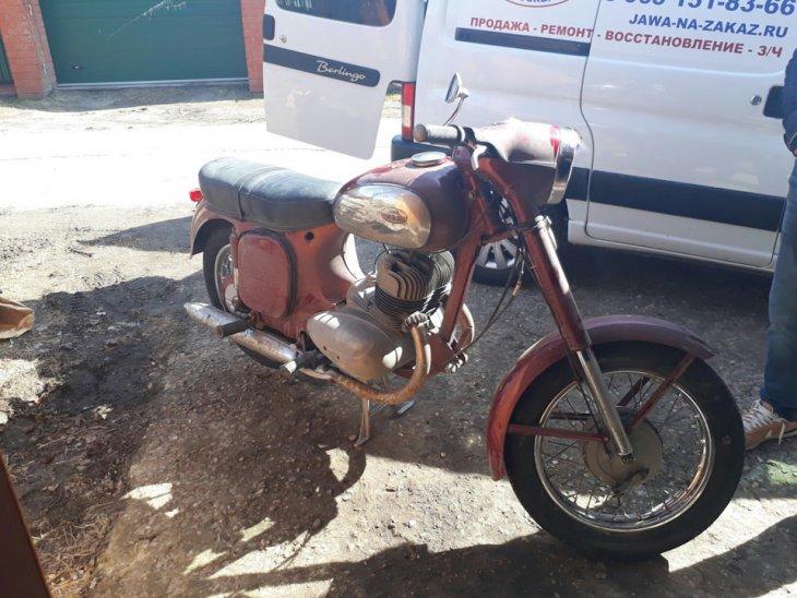 Восстановление мотоцикла Ява 360 (1)