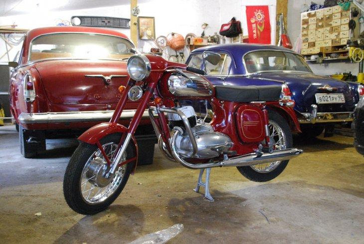 Восстановление мотоцикла Ява 360 (13)
