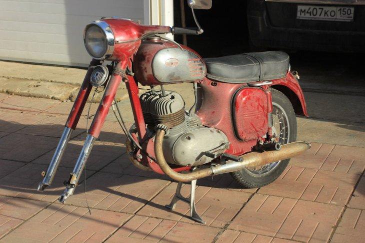 Восстановление мотоцикла Ява 360 (2)