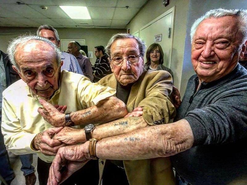 Встреча выживших в Освенциме