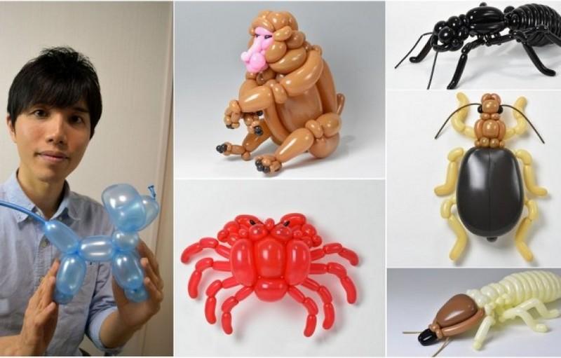 Какие фигурки можно сделать из воздушных шариков (1)