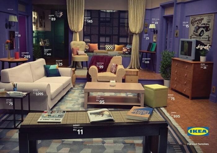 В IKEA создали гостиные из сериалов (2)