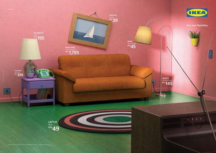 В IKEA создали гостиные из сериалов (4)