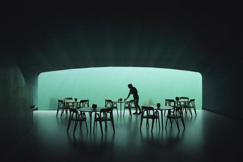 Необычный ресторан на дне моря в Норвегии (1)