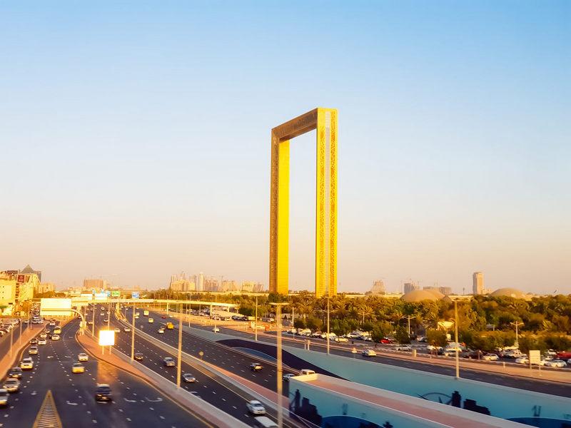 Гигантская Рамка Дубая (1)