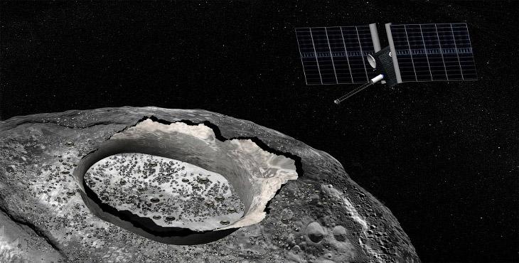 Астероид Психея (2)