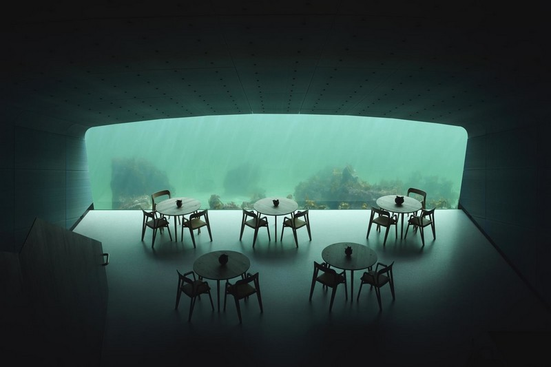Необычный ресторан на дне моря в Норвегии (5)