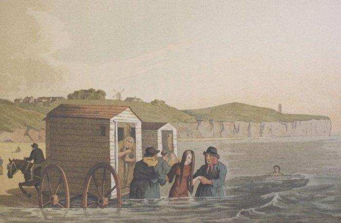 Как купались на пляжах скромницы XIX века (5)