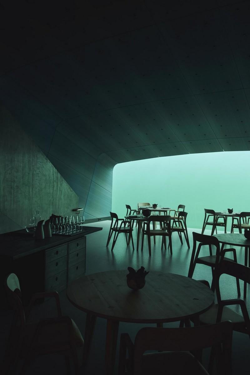 Необычный ресторан на дне моря в Норвегии (6)