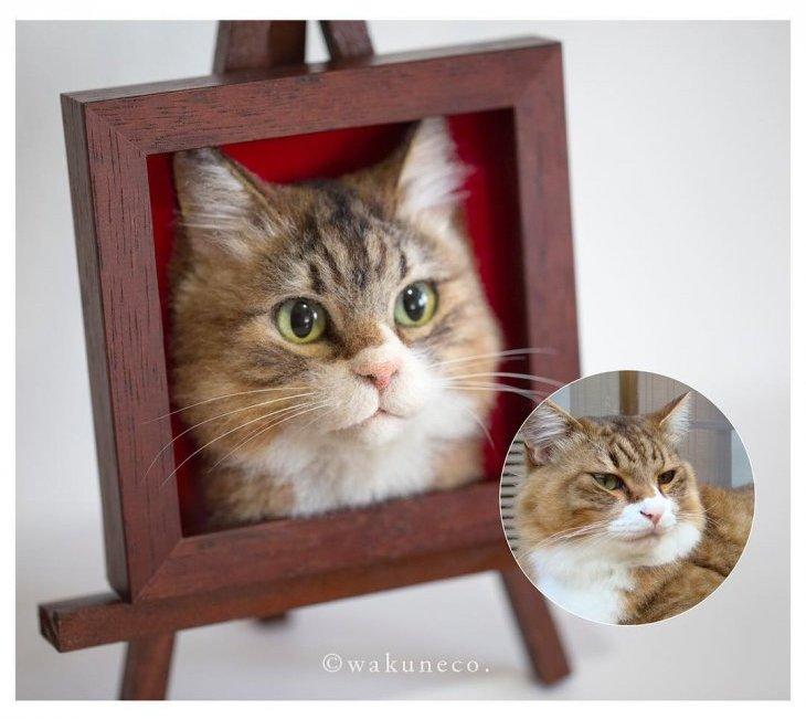 3D-портреты кошек (1)