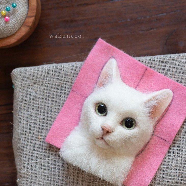 3D-портреты кошек (20)