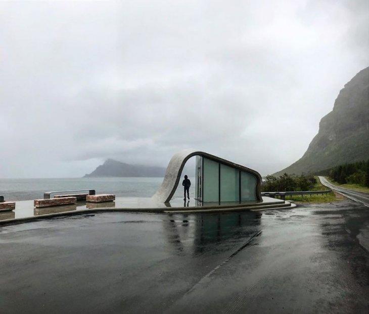 Самый необычный общественный туалет в Норвегии (3)