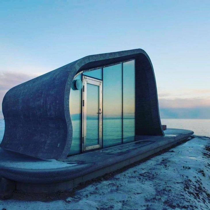 Самый необычный общественный туалет в Норвегии (5)