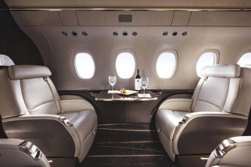 Пять самых роскошных интерьеров частных самолетов (1)