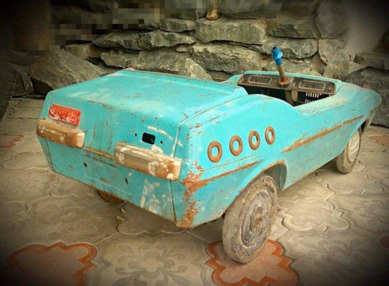 Реставрация детской педальной машины родом из СССР (2)