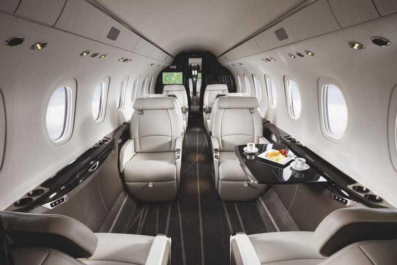 Пять самых роскошных интерьеров частных самолетов (2)