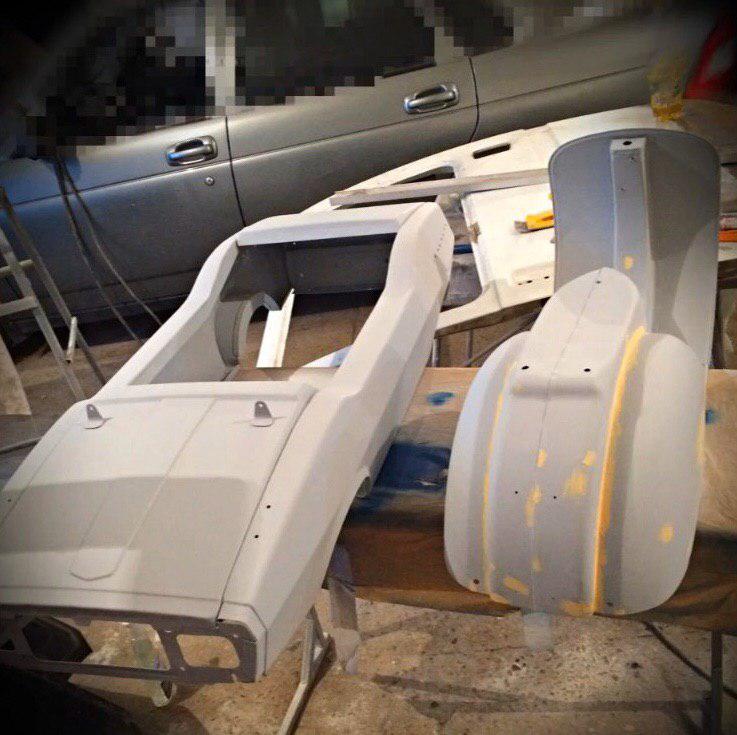 Реставрация детской педальной машины родом из СССР (4)