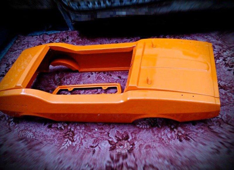Реставрация детской педальной машины родом из СССР (5)