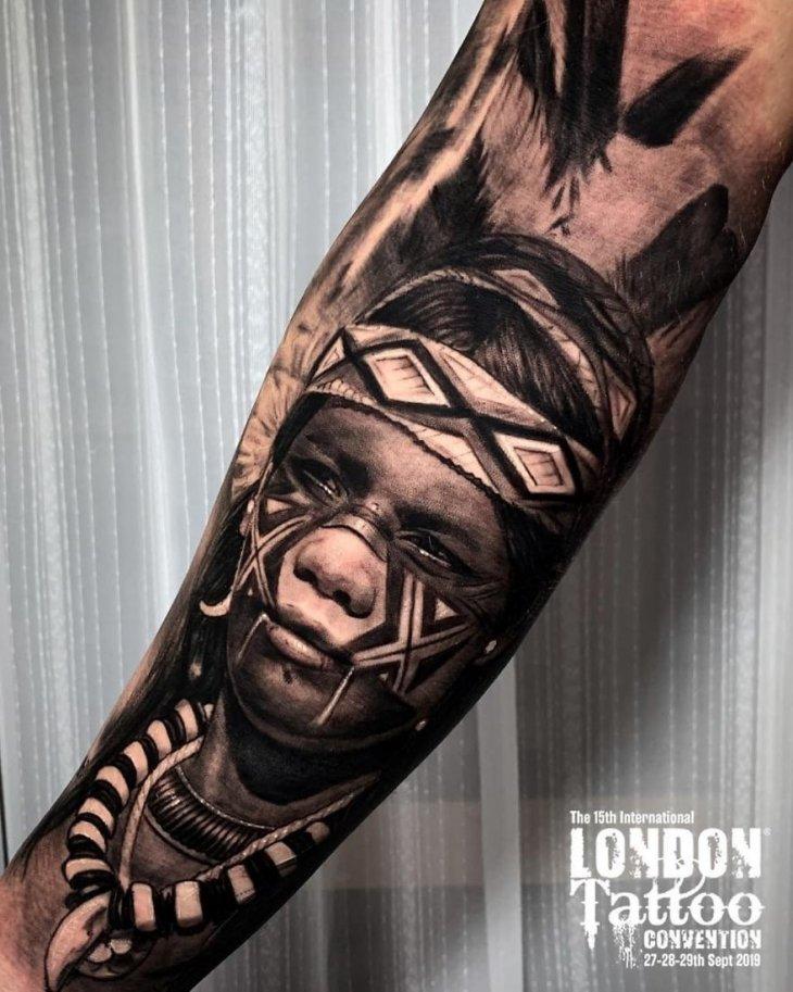 Самые крутые татуировки 2019 года (2)