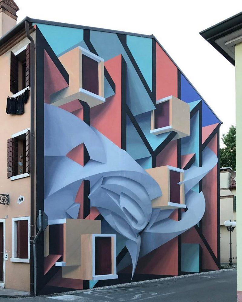 Поразительные 3D граффити от Мануэля де Рита (10)