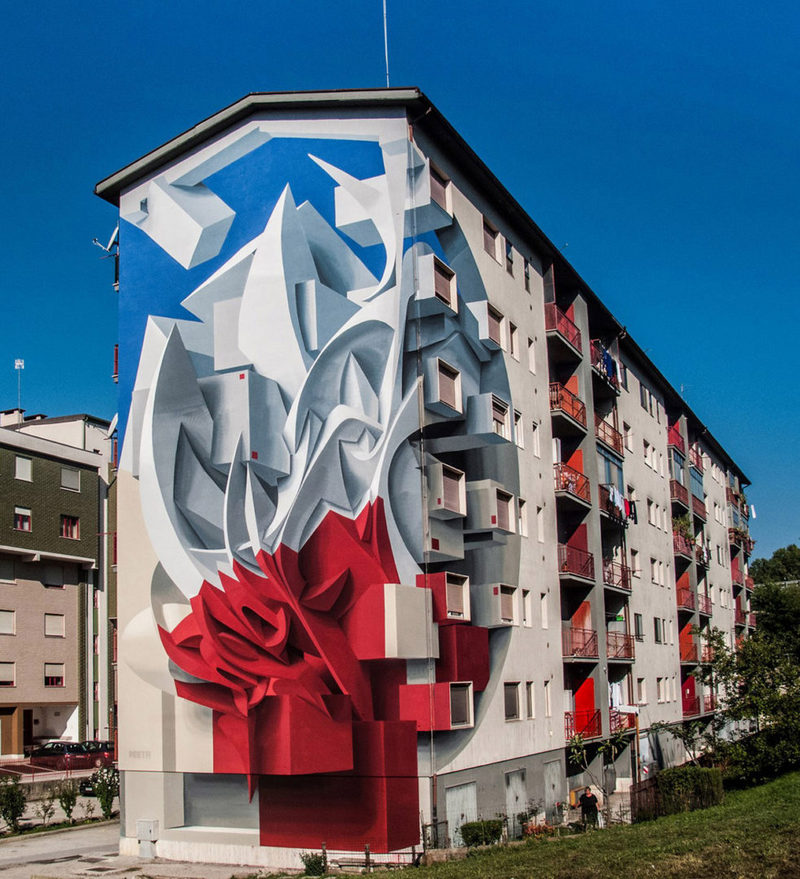 Поразительные 3D граффити от Мануэля де Рита (11)