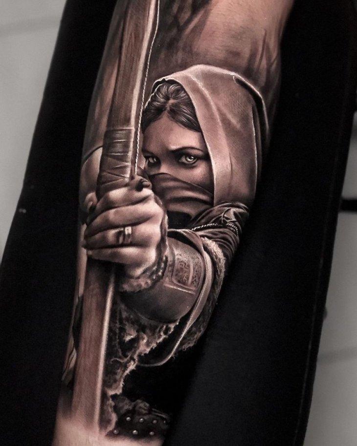 Самые крутые татуировки 2019 года (3)