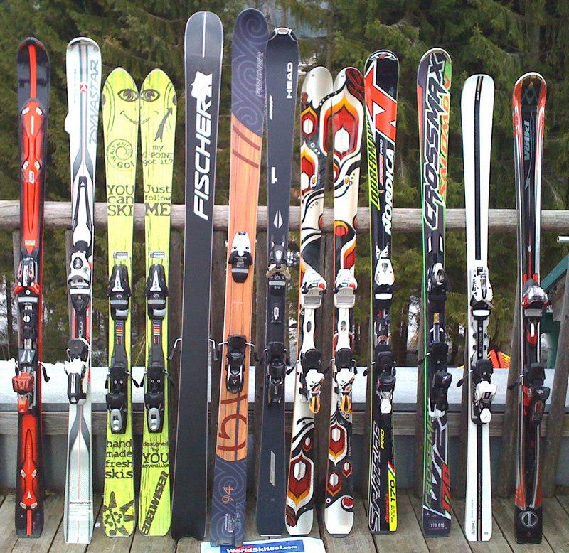 Какие лыжи стоит приобрести начинающему любителю горных лыж? (2)