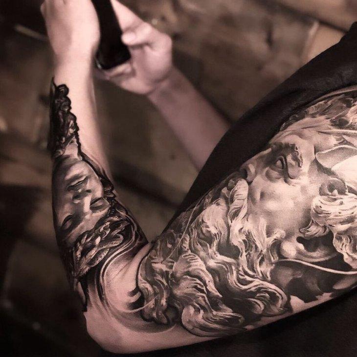 Самые крутые татуировки 2019 года (4)
