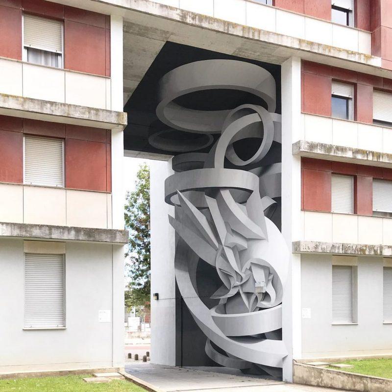 Поразительные 3D граффити от Мануэля де Рита (3)
