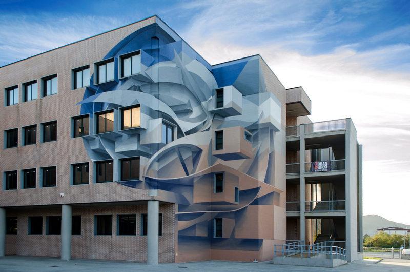 Поразительные 3D граффити от Мануэля де Рита (6)