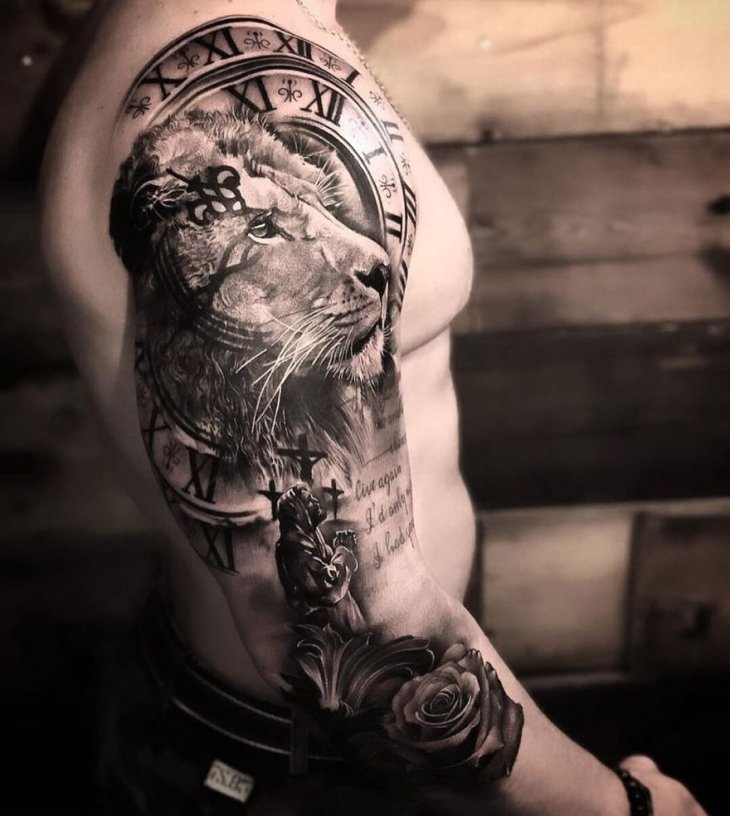 Самые крутые татуировки 2019 года (6)