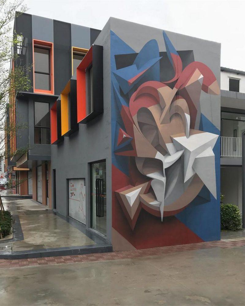 Поразительные 3D граффити от Мануэля де Рита (7)