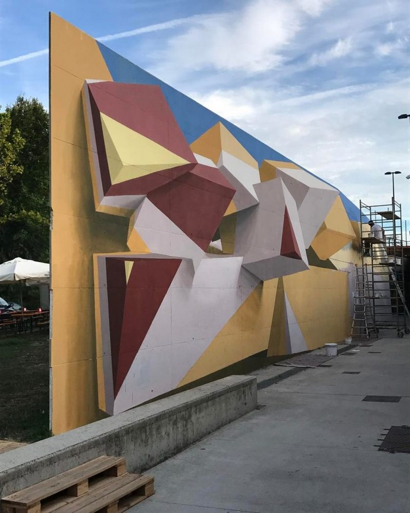 Поразительные 3D граффити от Мануэля де Рита (9)
