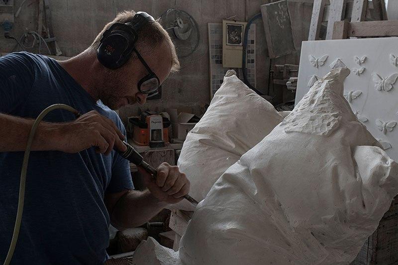Мраморные подушки от Хакона Фагераса (5)
