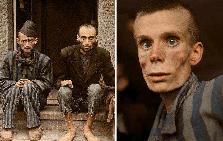 Освенцим в восстановленных цветных фотографиях (1)
