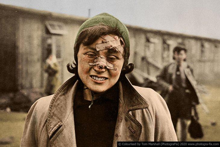 Освенцим в восстановленных цветных фотографиях (10)