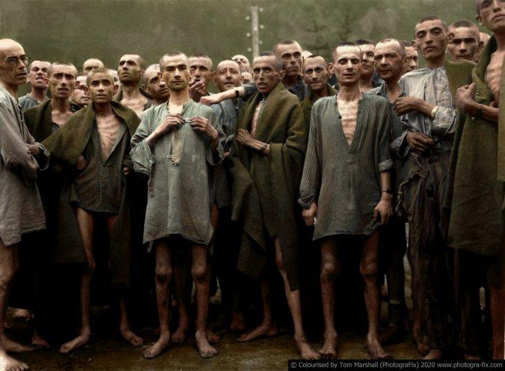 Освенцим в восстановленных цветных фотографиях (3)