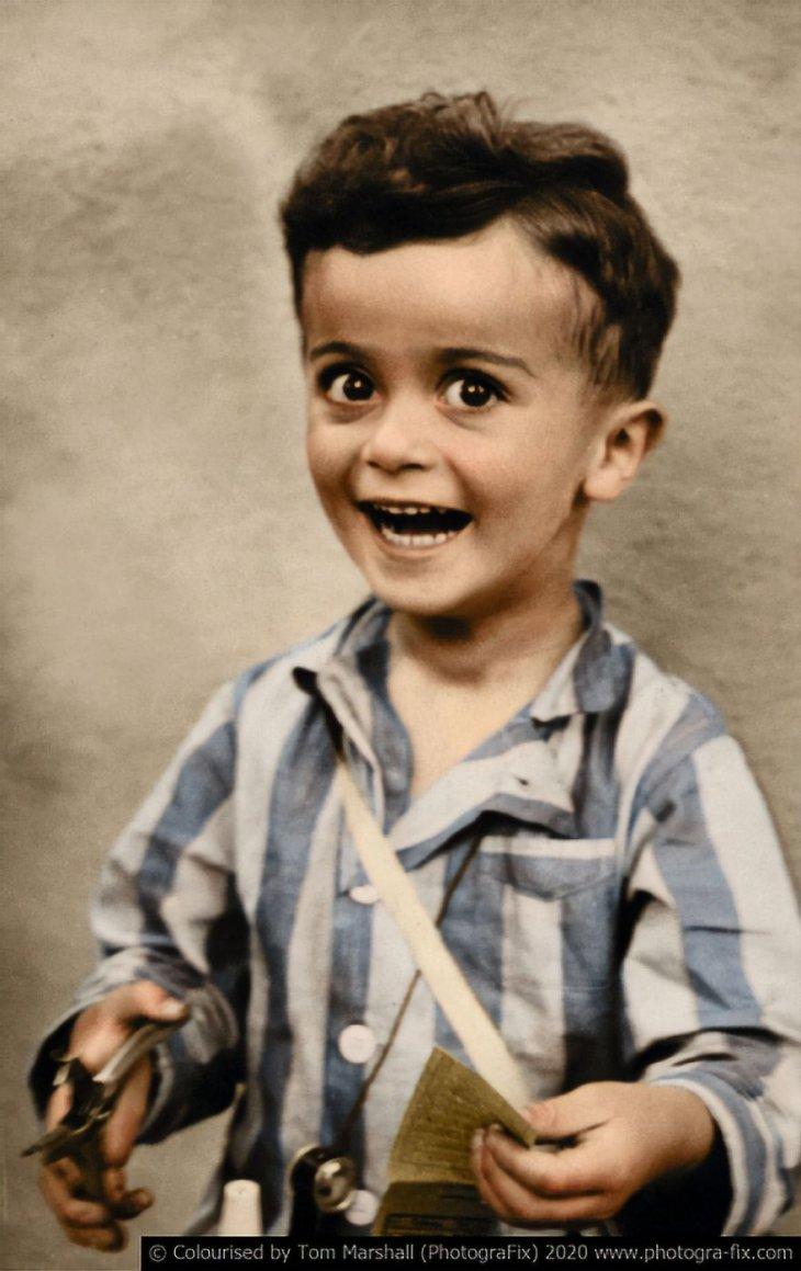Освенцим в восстановленных цветных фотографиях (4)
