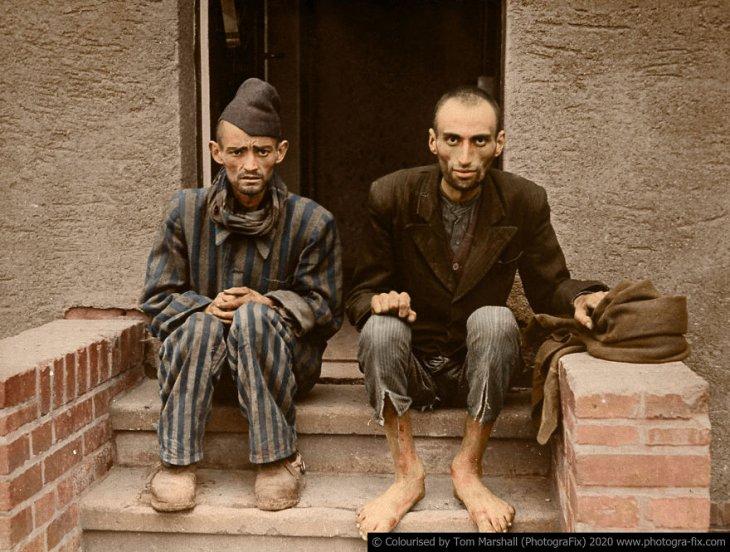 Освенцим в восстановленных цветных фотографиях (5)