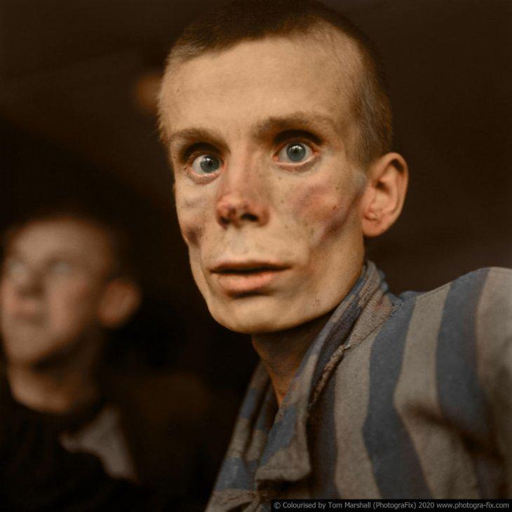 Освенцим в восстановленных цветных фотографиях (6)