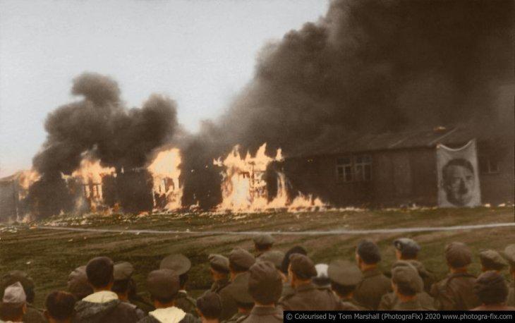 Освенцим в восстановленных цветных фотографиях (8)