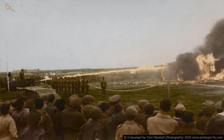 Освенцим в восстановленных цветных фотографиях (9)