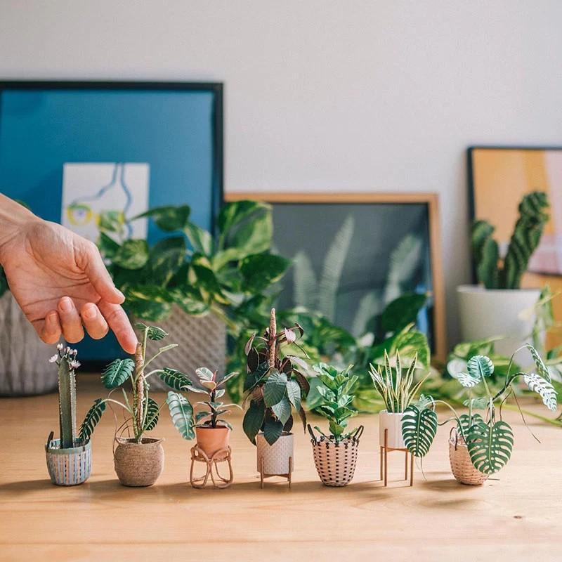В это трудно поверить, но эти растения выполнены из бумаги (1)