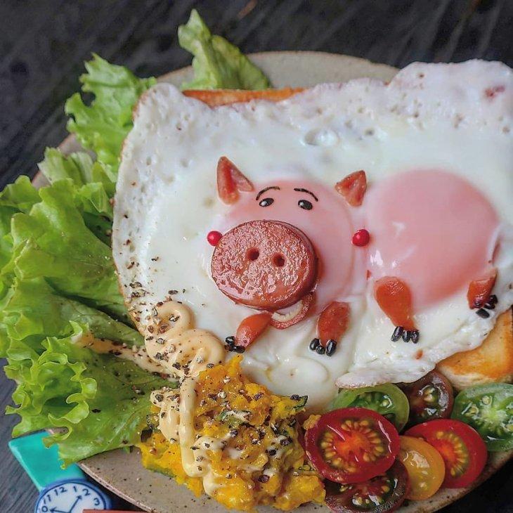 Яичница как искусство. Красивая яичница (1)