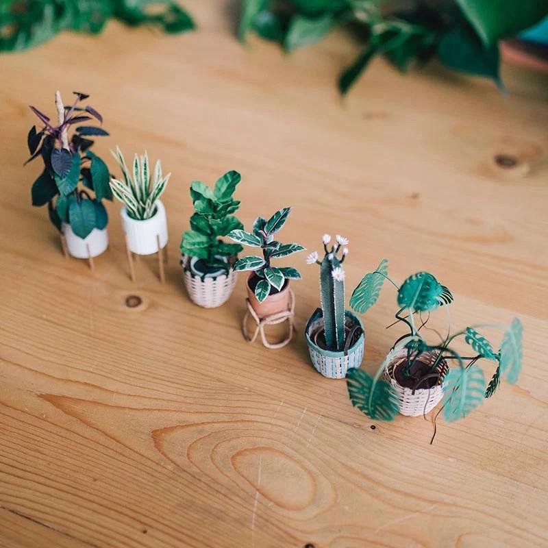В это трудно поверить, но эти растения выполнены из бумаги (12)